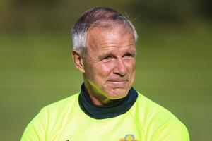 Roland Nilsson under P98-landslagets samling på Sportfältet i Odensala 2016. Bild: Lisa Johansson.