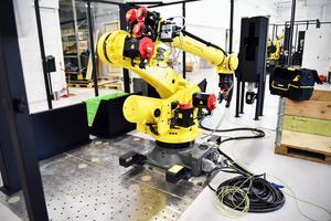 Företaget tillverkar robotar såsom denna till företag i främst Sverige.