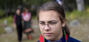 Heaika Wollberg var en av askbärarna under ceremonin. Foto: Per Landfors.