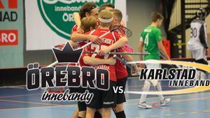 LIVE-TV 18.50: Örebro Innebandy tar emot topplaget Karlstad – se matchen i allsvenskan här