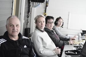 Staffan Lidén, Sara Norberg, Maria Lövgren Embretsen och Helen Skoger jobbade med tidtagningen.