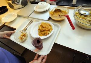 I Gävle har maten inte samma klass som Akademiska.