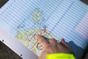 En av kartorna som används