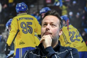 Svenne Olsson inledde tiden som förbundskapten med ett VM-brons. Foto: Pontus Lundahl/TT