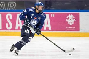 Hanna Lindqvists Leksand hade stora svårigheter med målskyttet i helgen. Foto: Daniel Eriksson/Bildbyrån
