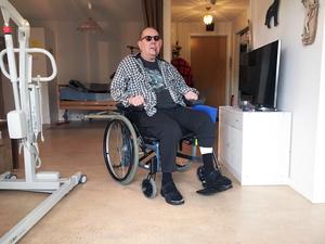 Svante Pettersson har bara hört gott om Södergården och där har han fått en ny servicelägenhet efter att ha tvingats lämna sin tidigare på Karlslund.