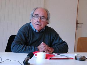 Jean Baudrillard, en av postmodernismens förgrundsgestalter, inspirerade till filmen Matrix.Foto: Europeangraduateschool /Wikimedia commons