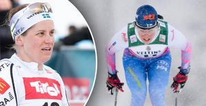 Ida Ingemarsdotter, till vänster, blev bästa svenska på 17:e plats. Finlands Krista Pärmäkoski, till höger, vann på hemmaplan i Lahtis.
