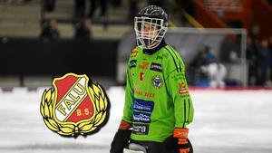 Max Bergström ansluter från Broberg.