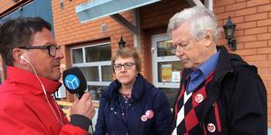 Kerstin Brandelius, vd för Voon, och Nils-Gunnar Molin, styrelseordförande i Voon. Bild: Hanna Persson