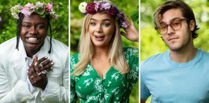 Tusse, Keyyo och Benjamin Ingrosso är tre av årets sommarvärdar i P1. Foto: Sveriges Radio