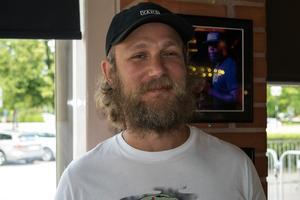 Fredrik Bergsten, eventmanager på Broken Dreams i Borlänge.