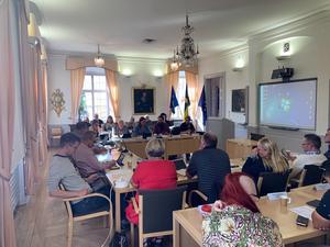Insändarskribenten Owe Karlsson vill se fler egna idéer från Salas politiker.