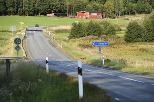 Här kommer trafiken släppas på växelvis med trafikljus från och med 21 september, fram till och med december.