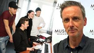 Peo Nylén, ordförande i Musikmakarna, och creative director i cosmos music publishing i Stockholm.