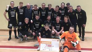 Norrsundets IF :s vann Bilma Cup 2019 för herrar.