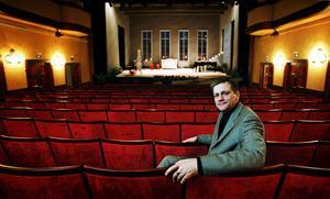 Efter fem år slutar Anders Lerner som chef för Västmanlands Teater 2001 och beger sig till Malmö.Foto: Jonas Bilberg