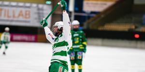 Matilda Plan fortsätter att ösa in mål. Skytteligaledaren stod för 1–0 målet mot Skutskär.