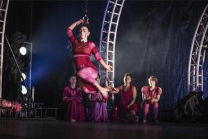 Foto: Maryam Barari Cirkus Cirkörs föreställning