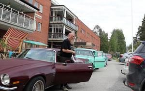 Hans Forsström samordnade bilmomentet.