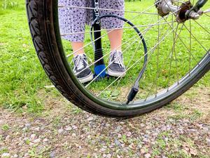 På cykelkursen är det tänkt att deltagarna ska få lära sig lite om cykelvård och enklare reparationer.