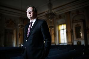 Horace Engdahl kritiserar Jean-Claude Arnault dom.Foto: Linus Sundahl-Djerf / SvD / TT