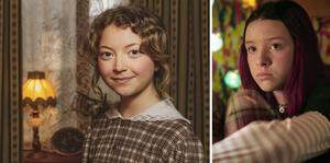 Bibi Lenhoff och Sarah Rhodin spelar huvudrollerna i årets julkalender på SVT.