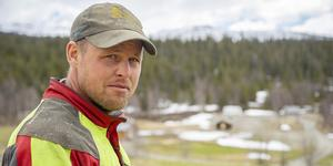 Jimmy Olofsson, 37 år från Ankarvattnet i norra Jämtland deltar i årets upplaga av Bonde söker fru som sänds i TV4.