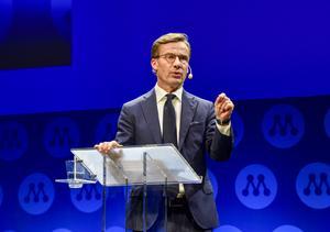Moderaterna är i Västerås på partistämma. Foto: Linus Svensson / TT