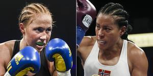 Örebro BK-boxaren Patricia Berghult vill hinna gå en match mot Cecilia Brækhus innan den 37-åriga obesegrade norskan lägger handskarna på hyllan. Arkivfoto: TT