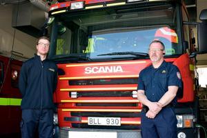 Lennart Håkansson och Mikael Olofsson sörjer en kollega som de menar alltid ställde upp för andra.