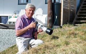 Ingemar Lind kåserar och visar vildmarksfåglar.