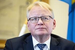 Försvarsminister Peter Hultqvist (S). Foto: Emma-Sofia Olsson / SvD / TT.