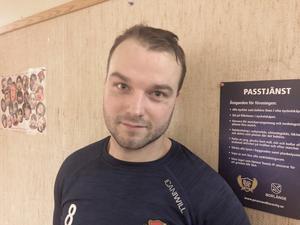 Tobias Andersson nöjd efter derbysegern mot Borlänge.
