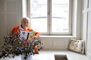 Lennart Hellsing läser ur sin sista bok