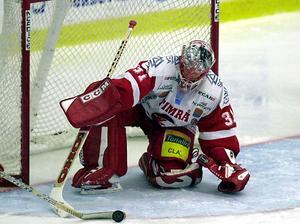 Fredrik Andersson från tiden då han spelade för Timrå IK.