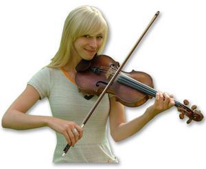 Folkmusikern Lena Jonsson. Foto: Pressbild