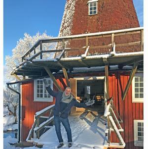 Så här glad var Ernst Kirchsteiger när han i början på året kom till Kånsta kvarn första gången. Efter det har