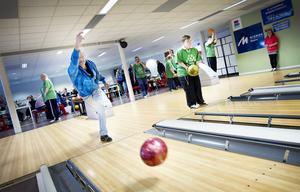 År 2013 var det bowlingbattle mellan Sandviken och Hofors i hallen. Bild: Lina Westman.