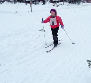 Matilda Sannervik, vinnare tjejer född 09(foto: Anna Sannervik)