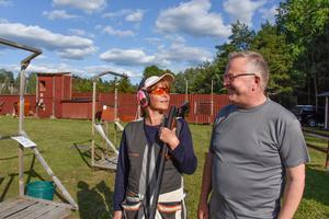 Susanne Smedberg och Rolf Eriksson tycker att samvaron är en viktig del i verksamheten.