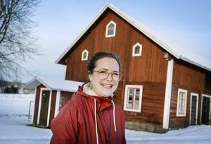 Till morfars och mormors gård i Långbyn flyttade familjen från Sydafrika. Men att vara