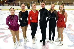 Hjälptränarna på plats var Lisa Mitazaki, Frida Lindström, Tyra Hansson, Johan Sparr, Sarah Feller och Sonja Nyberg. På bilden saknas Sofia Stenberg som var huvudarrangör.