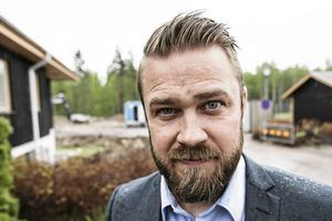 Kim Söderström, ordförande för Byggnads GävleDala, är föga förvånad över den illegala arbetskraften som i det här fallet använts i Dalafjällens byggboom.