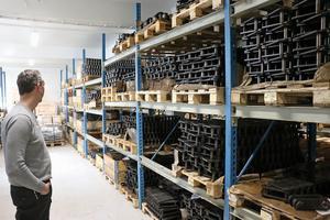 Enligt Magnus Gisselman har Kilab Europas största lager av produkter inom branschen.