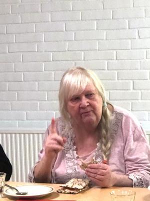 Elisabeth Nordqvist berättade om Ulvön, där hon levt större delen av sitt liv.