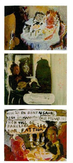 ...och förälskar sig i Marie-Antionette. Vår recensent anser att Leif Skoog och Johan Suneson visar genialitet i sitt sätt att blixtbelysa konstnärens status och belägenhet.