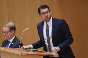 Sverigedemokraternas partiledare Jimmie Åkesson var tydlig med att han inte är klimatförnekare under årets första partiledardebatt i onsdags. Andra sverigedemokrater är inte lika tydliga.