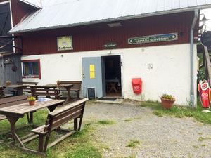Café Krubban lockar många turister under sommarhalvåret.