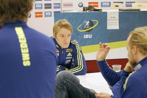 Sebastian Samuelsson går ut som nummer 79 i sprintloppet i Östersund.